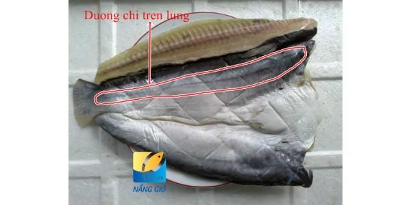 Cách phân biệt khô cá Dứa một nắng thật và giả