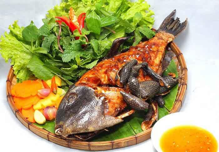Mua bán cá bò da giáp tươi ngon tại TpHCM, Sài Gòn nướng