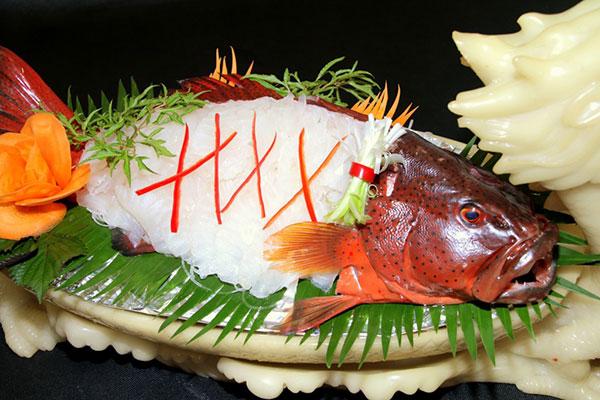 Mua bán cá bống mú đỏ làm gỏi cá sống