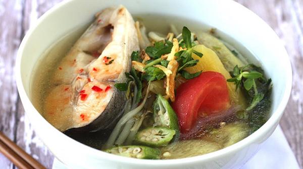 Cách nấu canh chua cá dứa tươi Cần Giờ