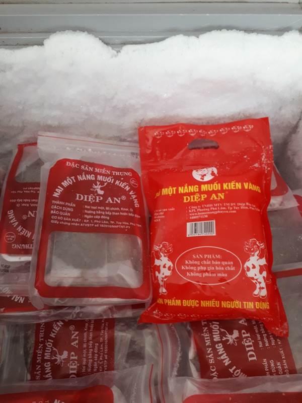 Các bảo quản an toàn - Bò 1 nắng Phú Yên