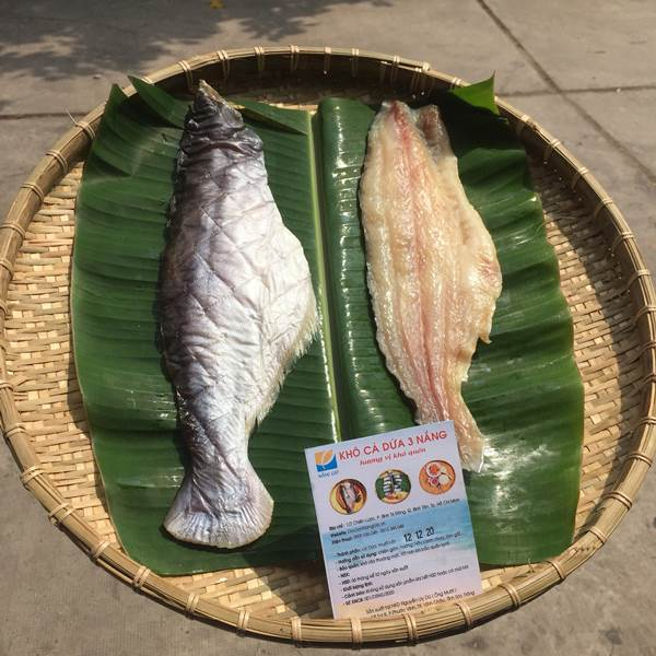 Mua khô cá dứa ở đâu ngon - Khô cá dứa 3 Nắng - đặc sản nam bộ làm Quà cho kiều bào