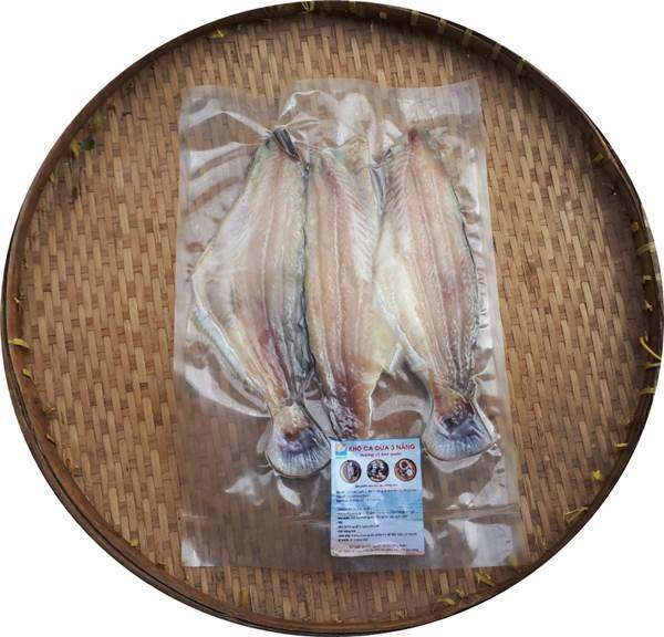 phơi đóng gói - Khô cá dứa 3 Nắng - đặc sản nam bộ làm Quà cho kiều bào