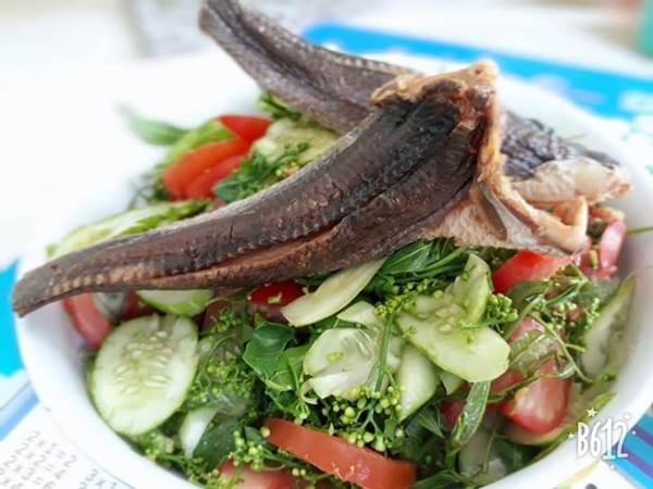 Gỏi khô cá lóc