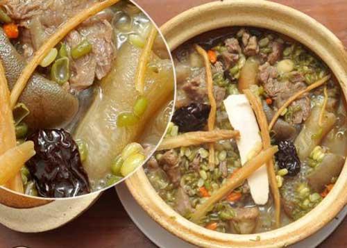 cách chế biến hải sâm hầm thịt dê